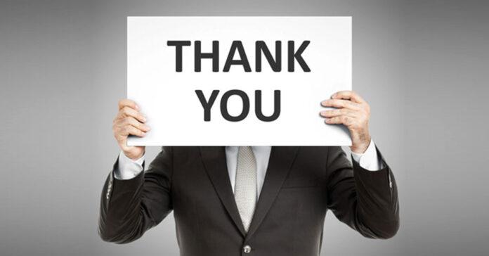 Letter of Thanks after Job Rejection